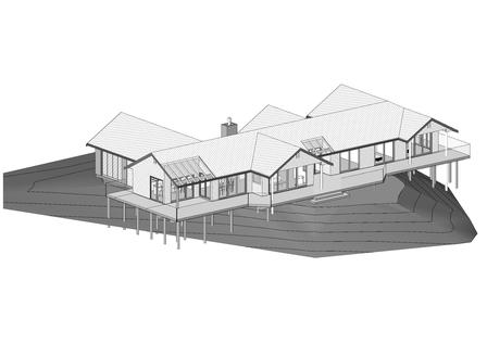 Wilkie New Dwelling 1 - Revit 3D.