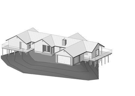 Wilkie New Dwelling 2 Revit 3D.