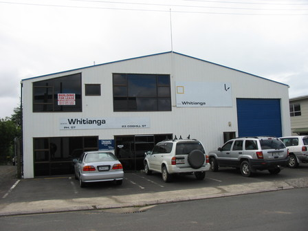 C3 Whitianga Existing Building pre fit out. No fee.